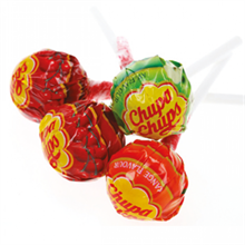 Chupa Chups Fruit Lollipops -Random Flavours