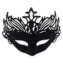 Coloured glitter mask