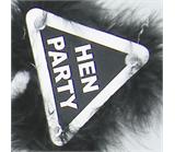 Black Hen Party Warning Bopper