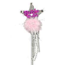 Flashing Pink and Silver Bride to Be Wand