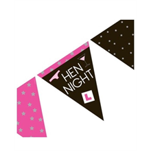 Hen Night Flag Bunting
