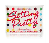 Sitting Pretty Toilet Seat Covers