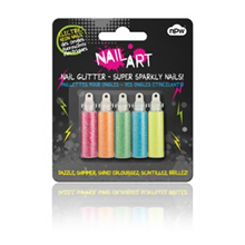 Nail Art Glitter - Electric Neon Nails