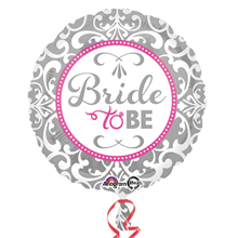 Elegant Bride To Be Standard Foil Balloon