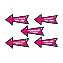 Hen Night Direction Signs