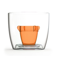 Bomber Jagerbomb Cup - Orange 10 Pack