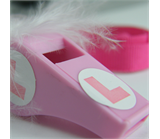 Pink L Plate Whistle