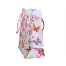 Butterfly Print Gift Bag - 23x18x10cm