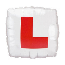 Square L Plate Balloons