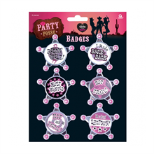 Party Posse Badges