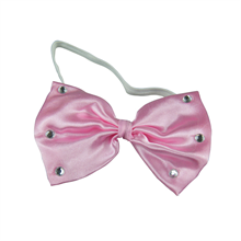 Pink Bow Tie with Stones
