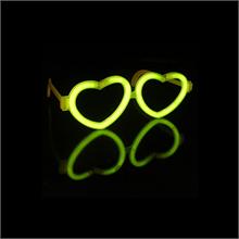 Glow Heart Love Glasses (Including Glow Sticks)