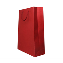 Red Gift Bag - 23x19x9